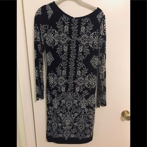 Vince Camuto long sleeve evening dress - M